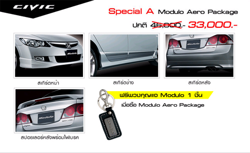 Special A Modulo Aero Package